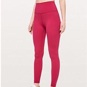 Lululemon Align Leggings Ruby Red